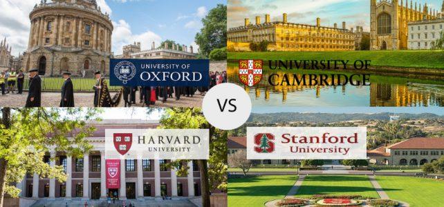 Dünyanın tanınmış universitetləri olan Oxford, Cambridge, Harvad Universitetlərində təhsil almağın yolları